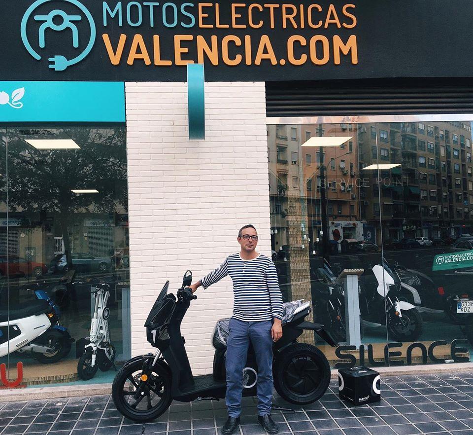 entrega motos silence valencia