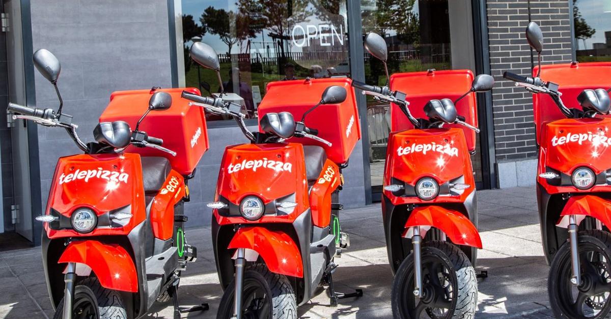 Motos eléctricas para empresas de reparto ¡en marcha!