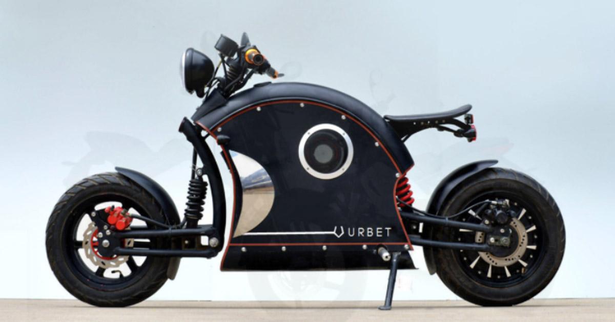 URBET llega a motos eléctricas ¡Y te la puedes llevar con el Plan Moves!