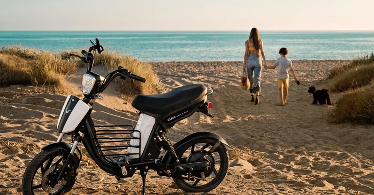 ¡Llega Cuca Bike! Bicis eléctricas con diseño de ciclomotor ¡Sin carnet!